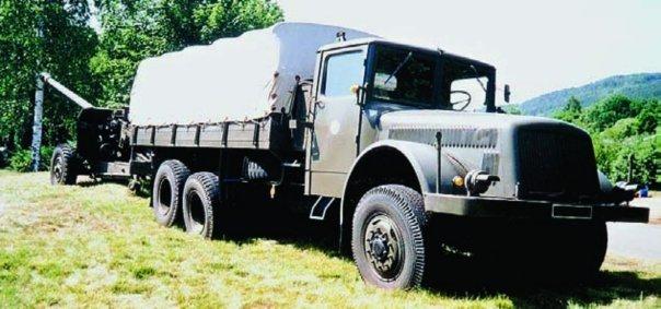 1952 Tatra-111NR, 6x6