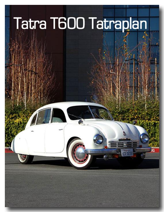 1952 Tatra T600 Tatraplan article