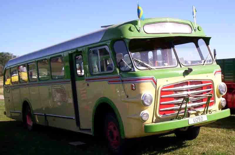 1952 Volvo B 617 Bus