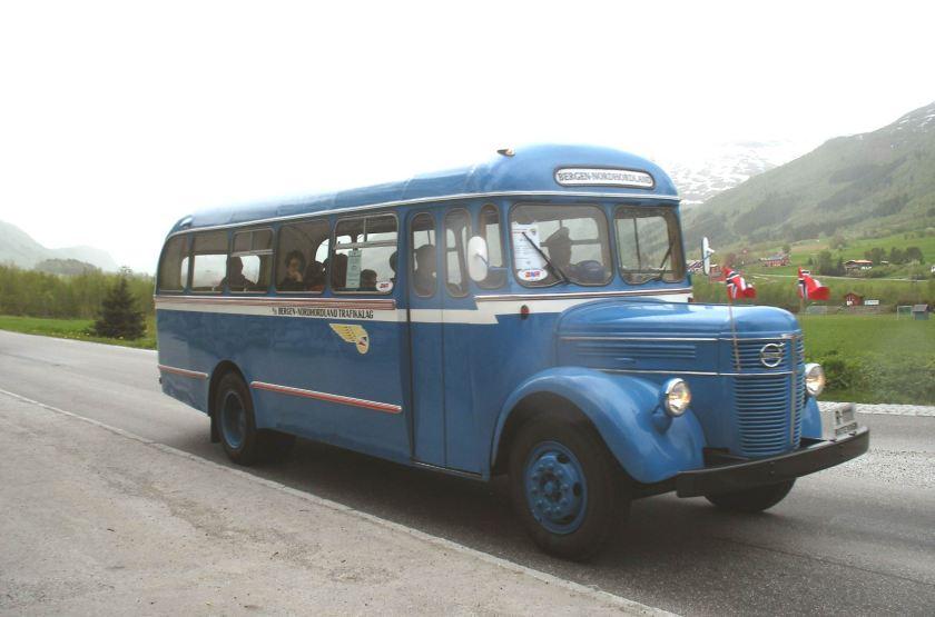 1952 Volvo Bergen-Nordhordaland N
