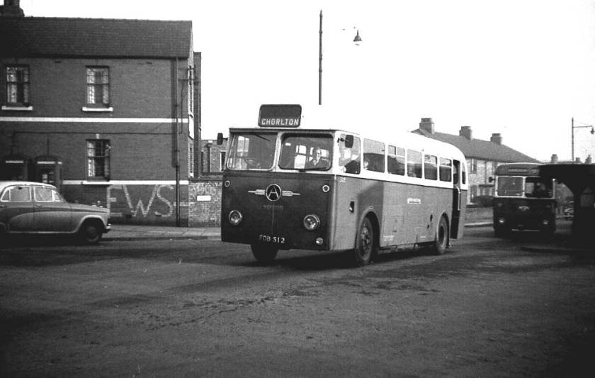 1952 Willowbrook B44R bodied Atkinson Alpha chassis