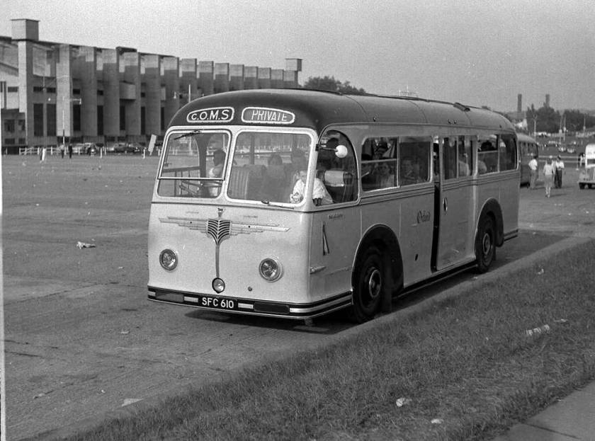 1952 Willowbrook C37C bodied A.E.C. 9821S Regal IVs