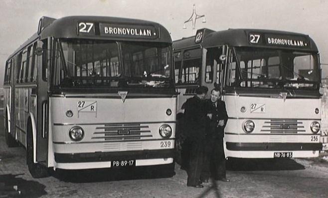 1952+54 Kromhout TBZ100 carr. Verheul 54PB-89-17  Kromhout TBZ100 carr. Verheul 52 NB-76-85