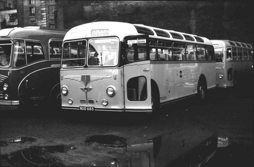 1953 AEC 9822S Regal IV with a Willowbrook C41F body