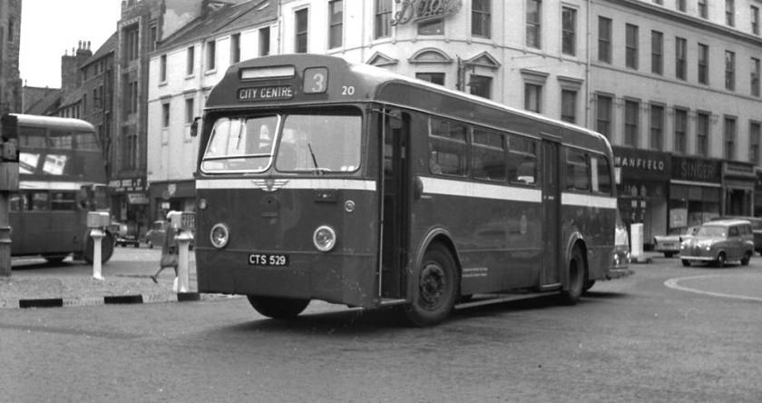 1953 AEC Regal IV with Weymann B40D body
