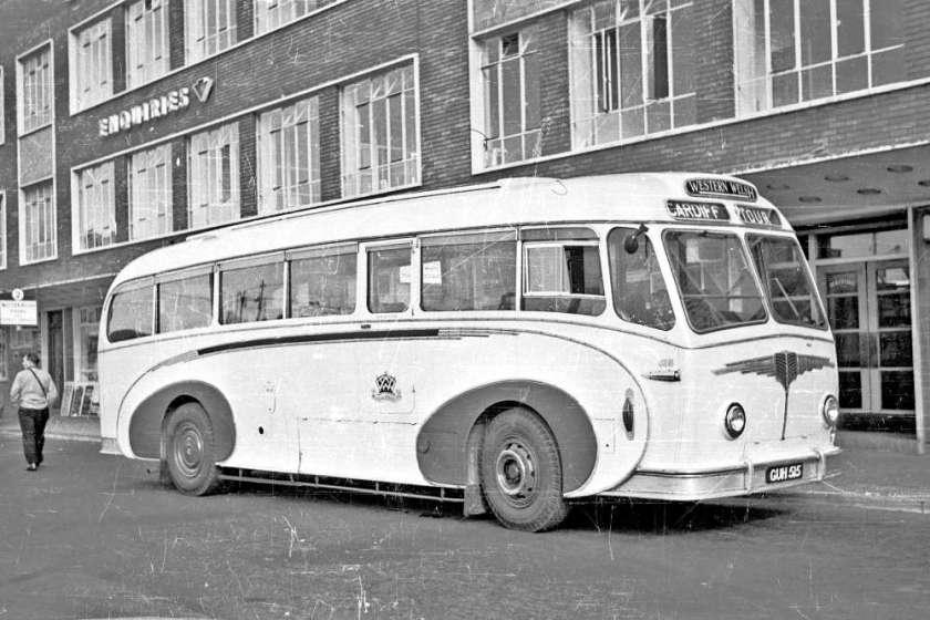 1953 AEC Regal IV with Willowbrook C39C body