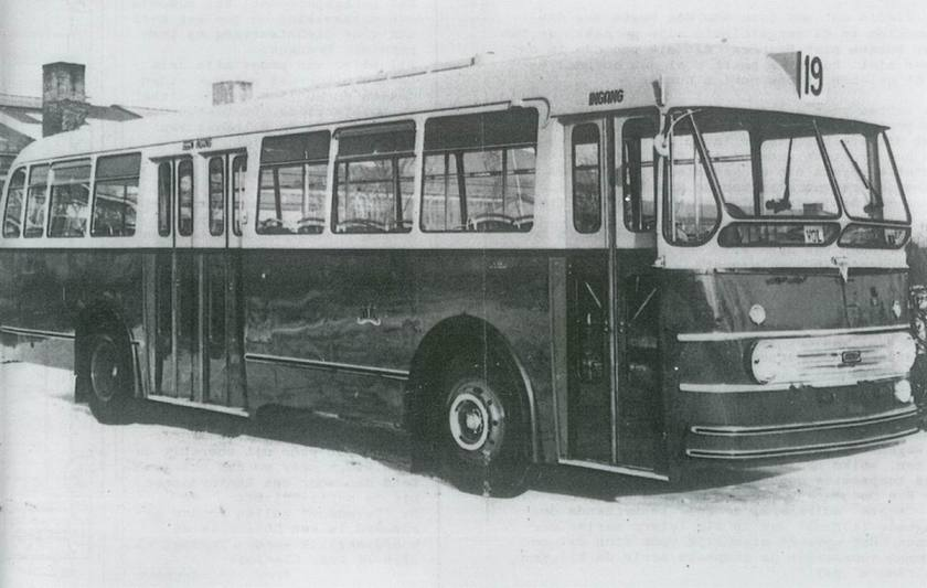 1953 AEC Regal mark IV(via importeur van Twist) - Verheul, Waddinxveen 1953 A'dam