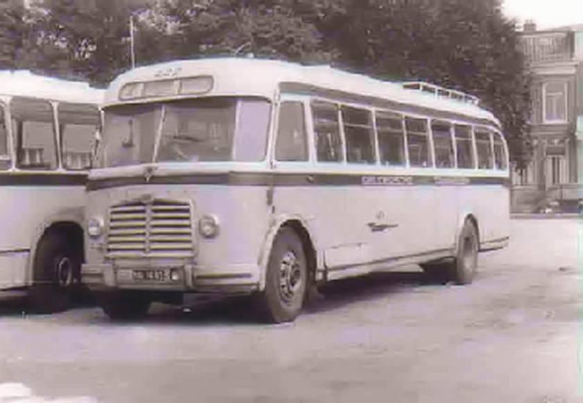 1953 AEC Regal MkIII AEC 219G carr Verheul+TL GTW381