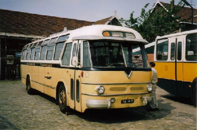 1953 AEC Regal MkIV AEC 219G carr Verheul GTW 392