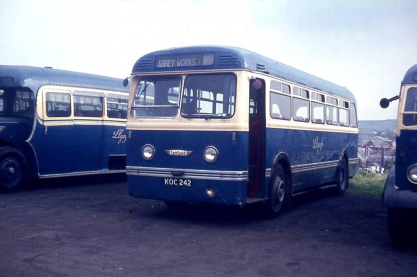 1953 Leyland HR40 Olympic prototypes with Weymann B40F bodywork