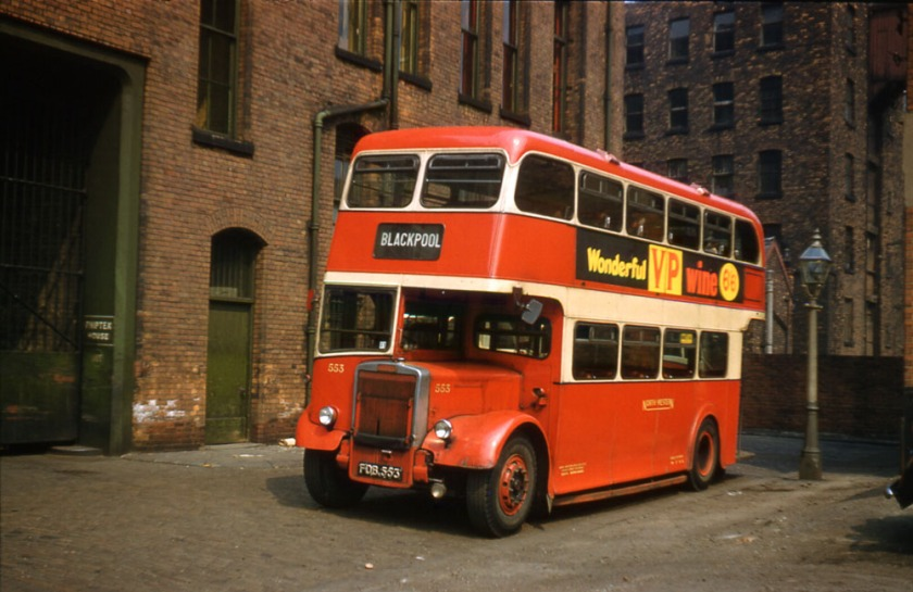 1953 Leyland PD2-12 with Weymann L27-26R body