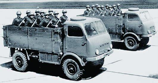 1953 Tatra-805, 4x4