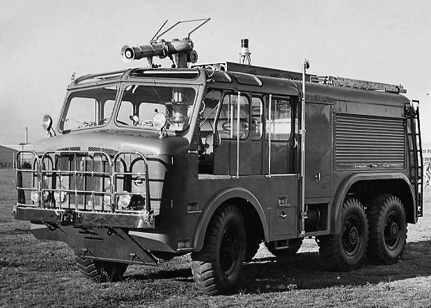 1953 Thornycroft Nubian 6x6 Large Fire Tender