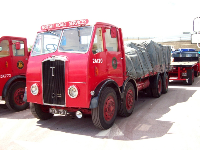 1953 Thornycroft Trusty Flatbed Engine 9785cc NYN