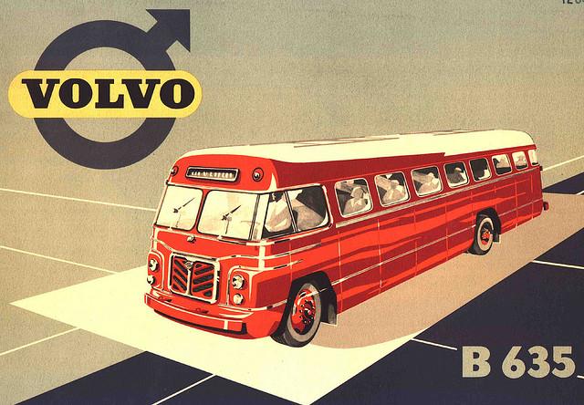 1953 VOLVO B635 Brochure Image