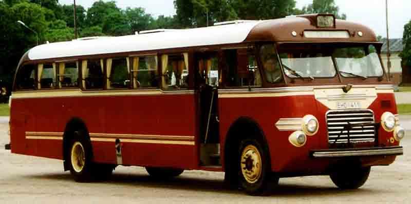 1953 Volvo B638 Bus