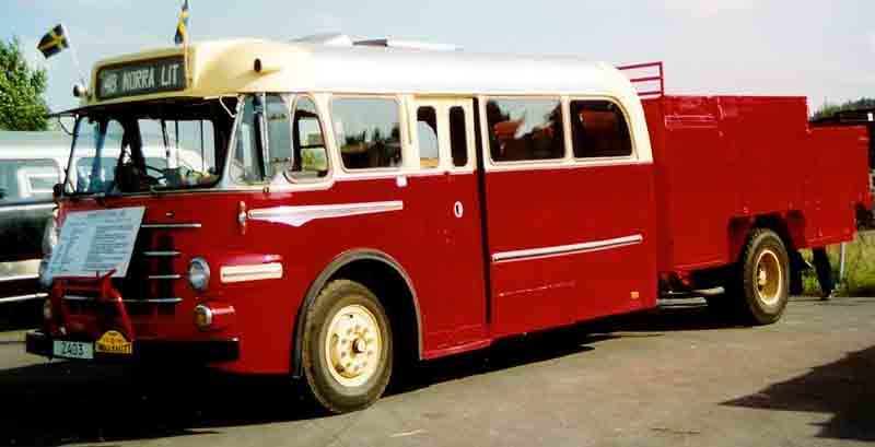 1953 Volvo B727 Bus