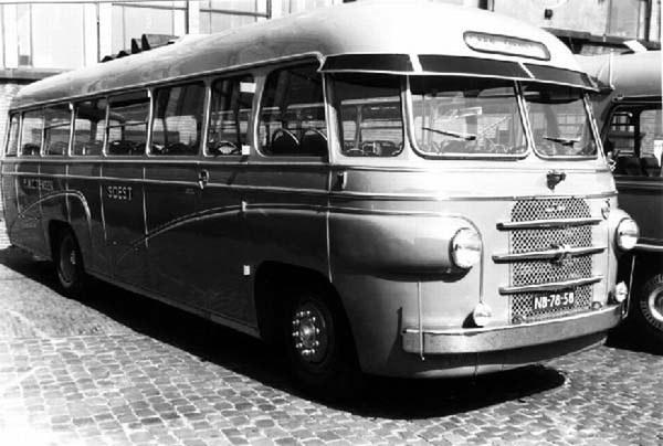 1953 Volvo Den Oudsten Diesel bus 30 Tensen
