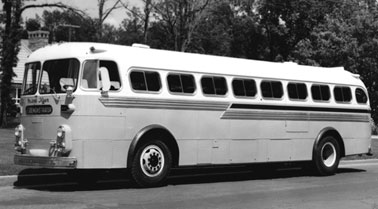1953 Western Flyer introduced the Canuck accommodated 33 passengers International Red Diamond engine or a Cummins diesel engine rear-engine