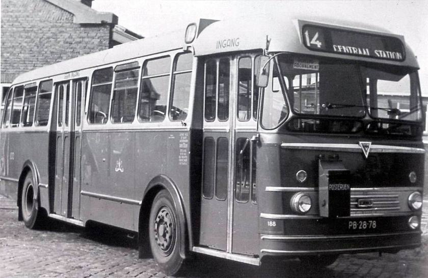 1954 AEC Regal Mk IV - Verheul, Waddinxveen A'dam
