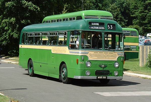 1954 AEC Reliance MU3RV with a Strachan C41C body rebodied by Weymann B40F