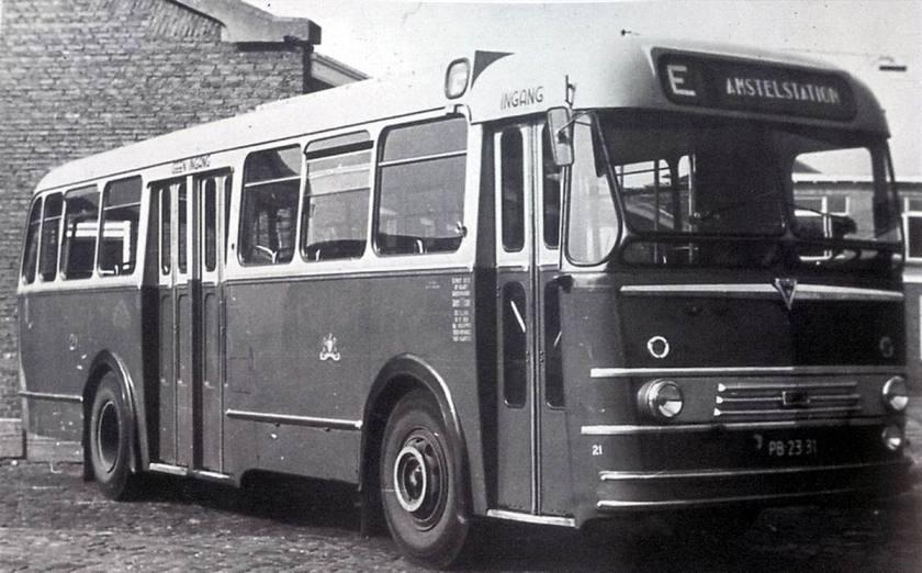 1954 AEC-van Twist Regal Mark IV Verheul Waddinxveen