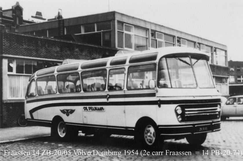 1954 Domburg Volvo