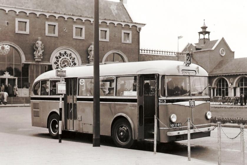 1954 Ford Verheul Trambus Den Bosch