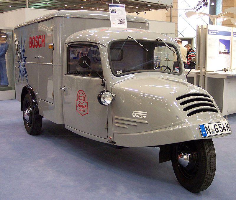 1954 Goliath Dreirad 1954 TCE