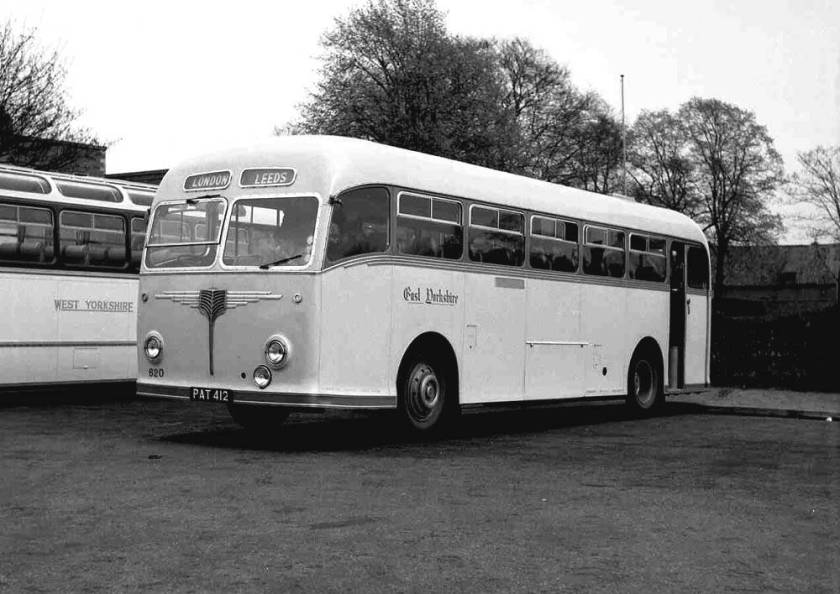 1954 Leyland Tiger Cub PSUC1-2T with Willowbrook C39R body