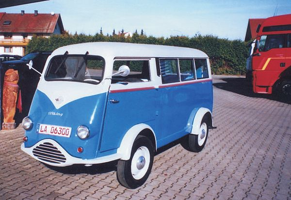 1954 TEMPO Vidal WIKING 2cyl Heinkel 452cc 17ps