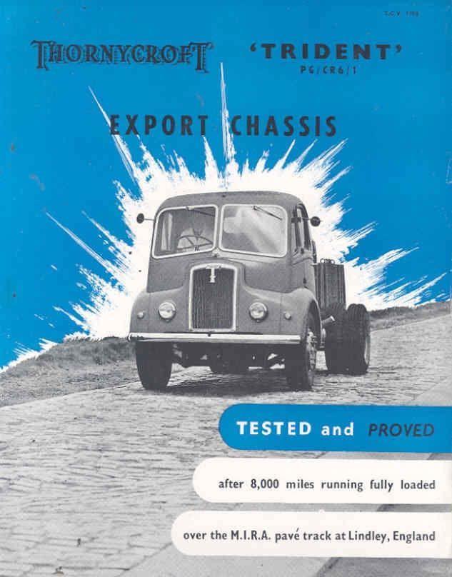 1954 Thornycroft Trident