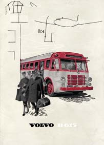 1954 Volvo B615 bus Brochure