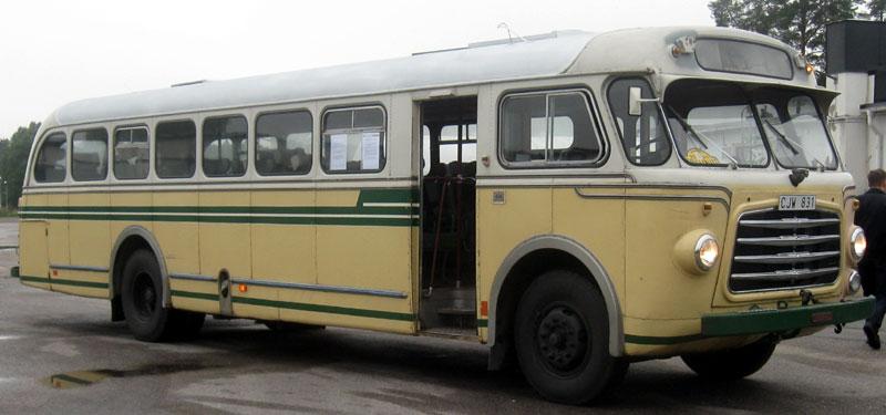 1954 Volvo B727