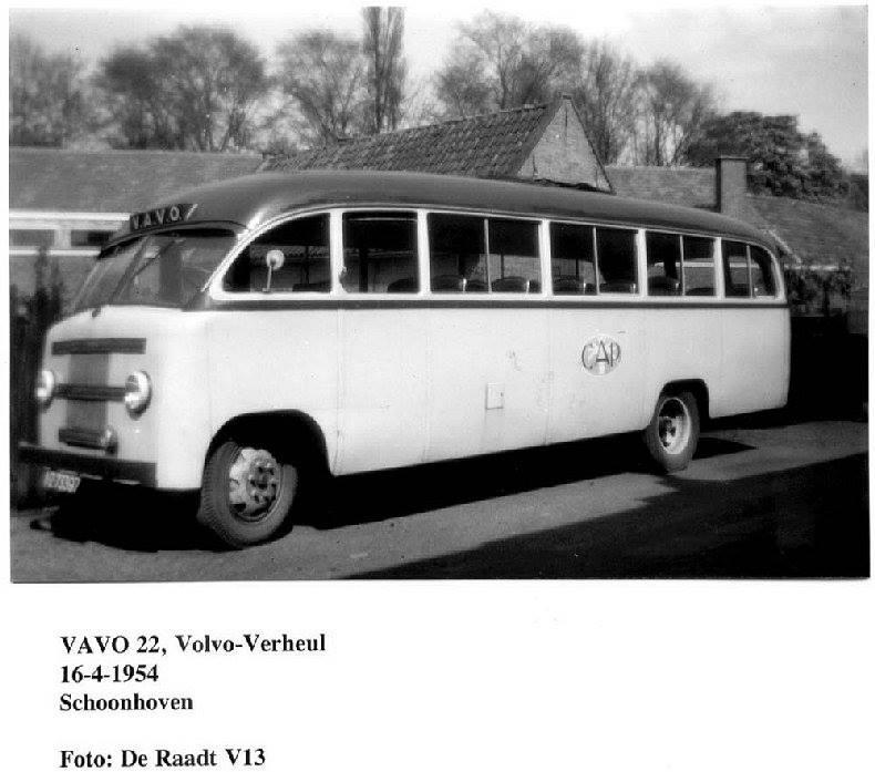 1954 Volvo Verheul Dr Raadt V13