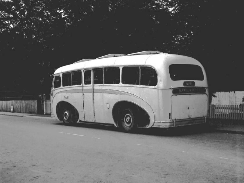 1954 Willowbrook C41C bodied Daimler D650HS Freeline