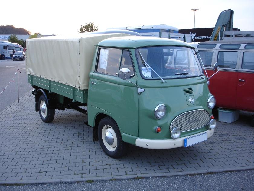 1955-63 Tempo Wiking mit Heinkel-Motor
