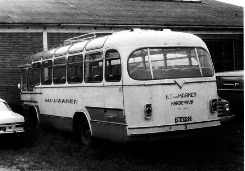 1955 9 PB-42-99 Büssing 4000T Verheul T van Maanen Harderwijk