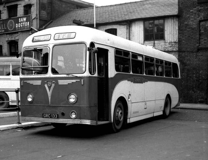 1955 a Weymann DP41F body on a Leyland Tiger Cub PSUC1-2T