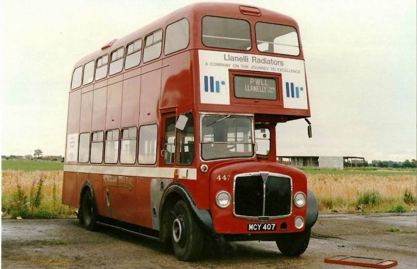 1955 AEC Regent V MD3RV with Weymann body