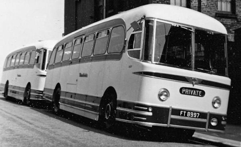 1955 AEC Reliance with a Weymann Fanfare C41F body
