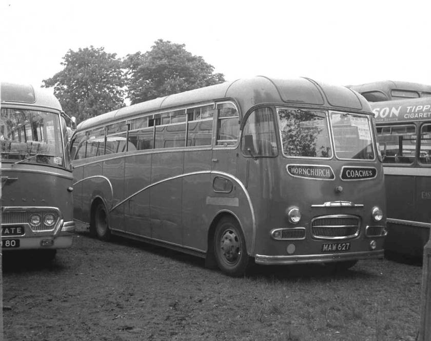 1955 Commer T85A Avenger III, MAW627, with a Whitson C41F body maw627