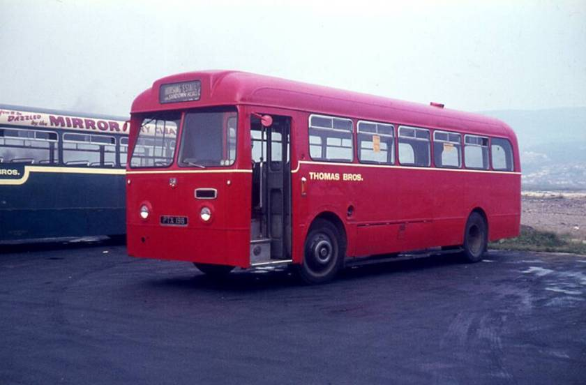 1955 Leyland Tiger Cubs with Weymann B44F body