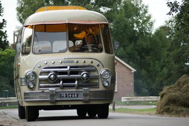 1955 PB-54-68 Volvo B619 Classic Tours Scherpenzeel
