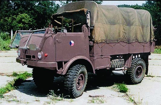 1955 Tatra-805, 4x4, Air Transportable