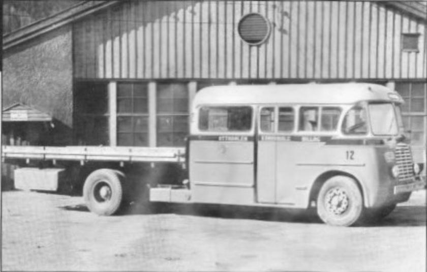1955 Tilling Stevens - Fjeldhus E-6012