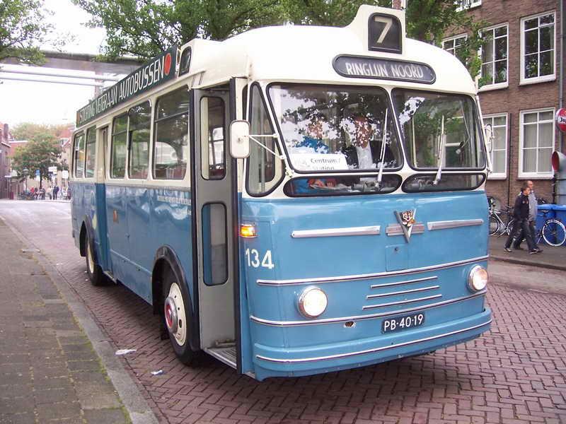 1955 Verheul auto bus