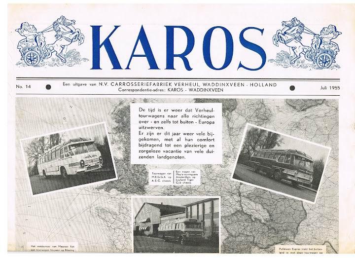 1955 VERHEUL KAROS-14 juli 1955