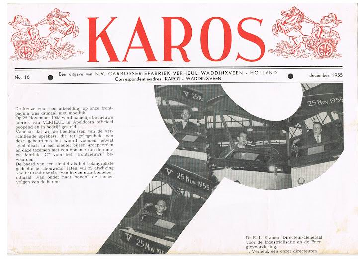 1955 VERHEUL KAROS-16 december 1955