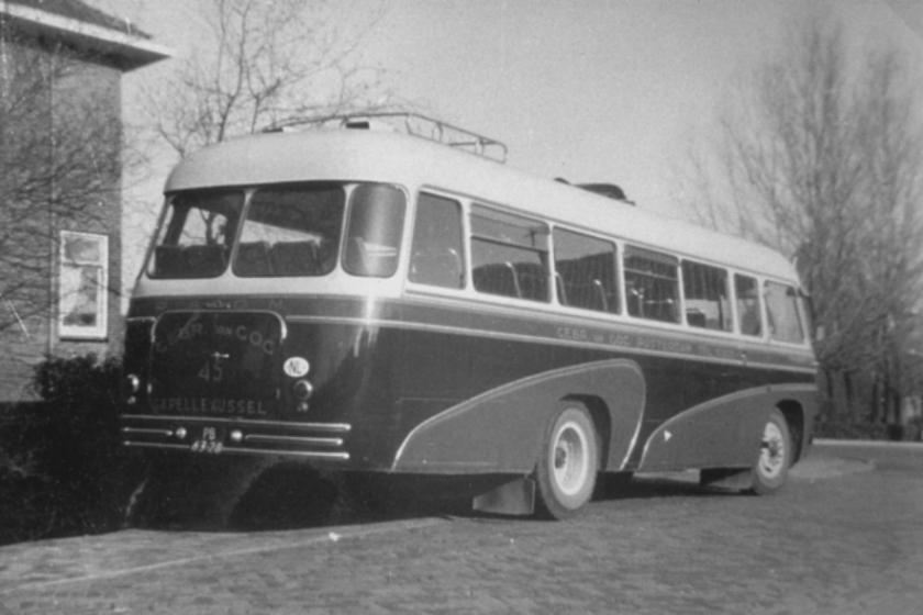 1955 Volvo 45 (serie 45-46, bouwjaar 1955) was van ca. 1958 tot eind 1962 GogNwkVolvo45